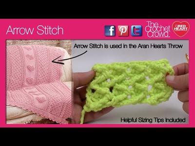 Crochet Arrow Stitch