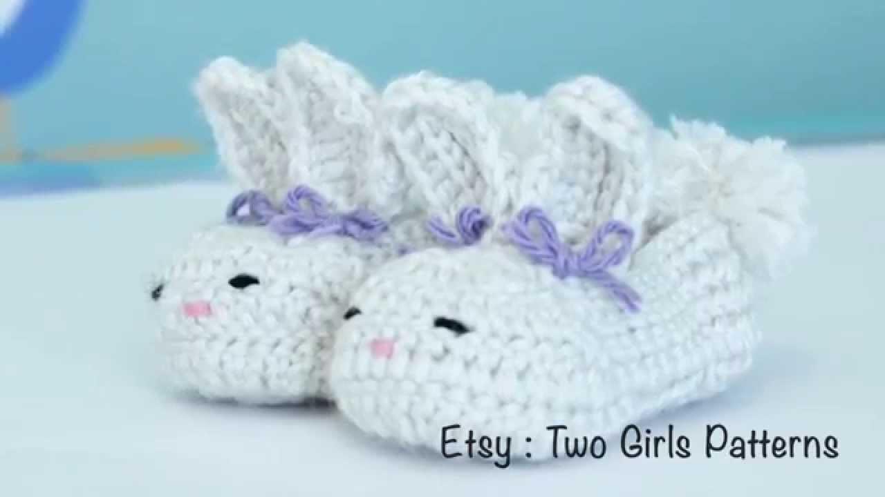 Crochet baby bunny house slippers - Crochet tips