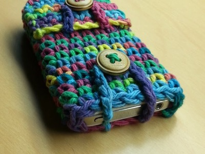 #Crochet Phone Case Ipod Ipad Crochet Tablet cover TUTORIAL crochet project crochet idea