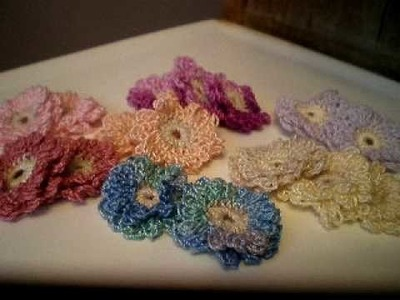 Crocheted Flowers Going in my Etsy Store (Need Ideas and Opinions)