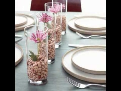DIY Do it yourself wedding centerpieces ideas