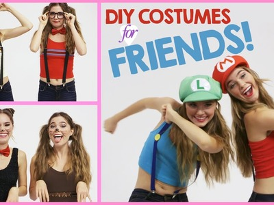 DIY Halloween Costumes to Wear with Friends!  w. Nina and Randa