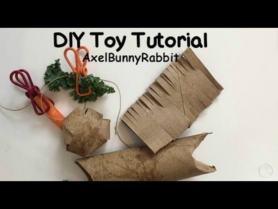 DIY.Homemade Bunny Toy Tutorial | AxelBunnyRabbit
