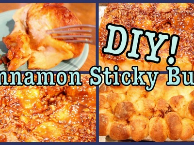 DIY: Homemade Cinnamon Sticky Buns