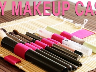 DIY MAKEUP BRUSH ROLL | Tip Tuesday #37
