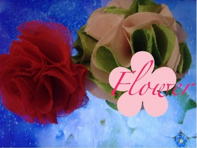 DIY: MeiIris' Flower Frill with DIY template Tutorial