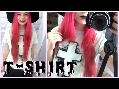 DIY: Pastel Goth T-Shirt