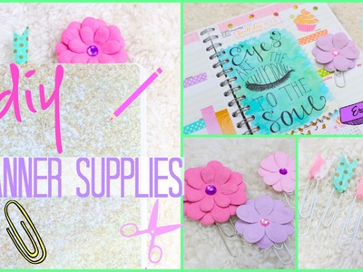 DIY Planner Supplies & How to Make More Space! | #PrettyPlanning