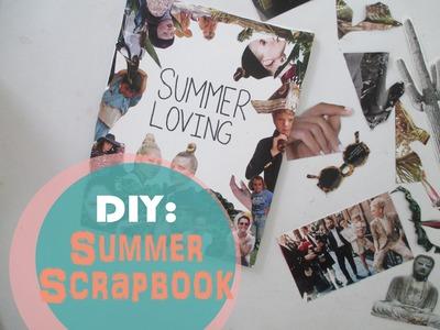 Diy | Summer Scrapbook