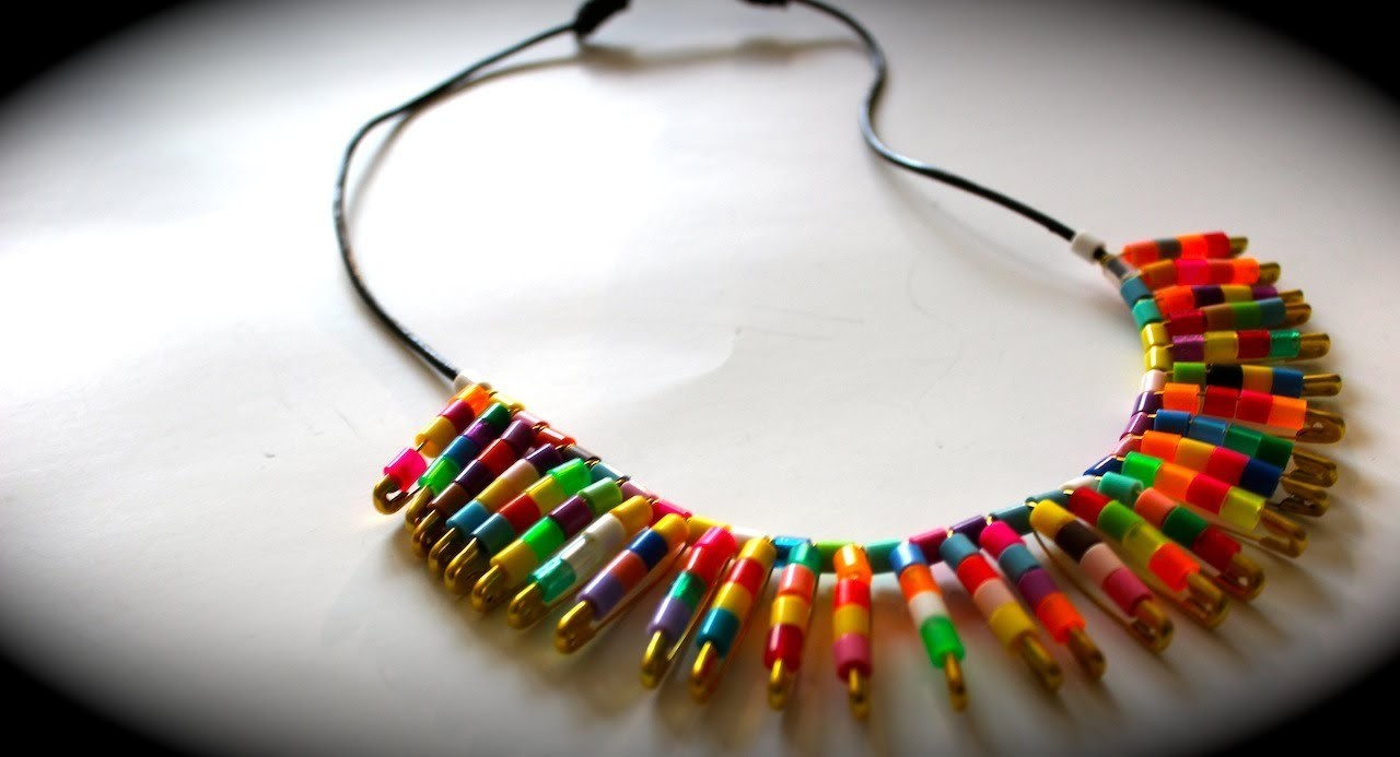 DIY | TRENDY TRIBAL COLLAR NECKLACE +SLIDING KNOT DEMO *GIFT IDEAS