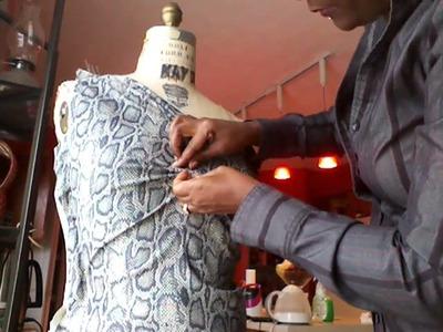 Draping dress part 1