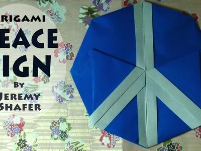 Fold a Peace Sign by Jeremy Shafer