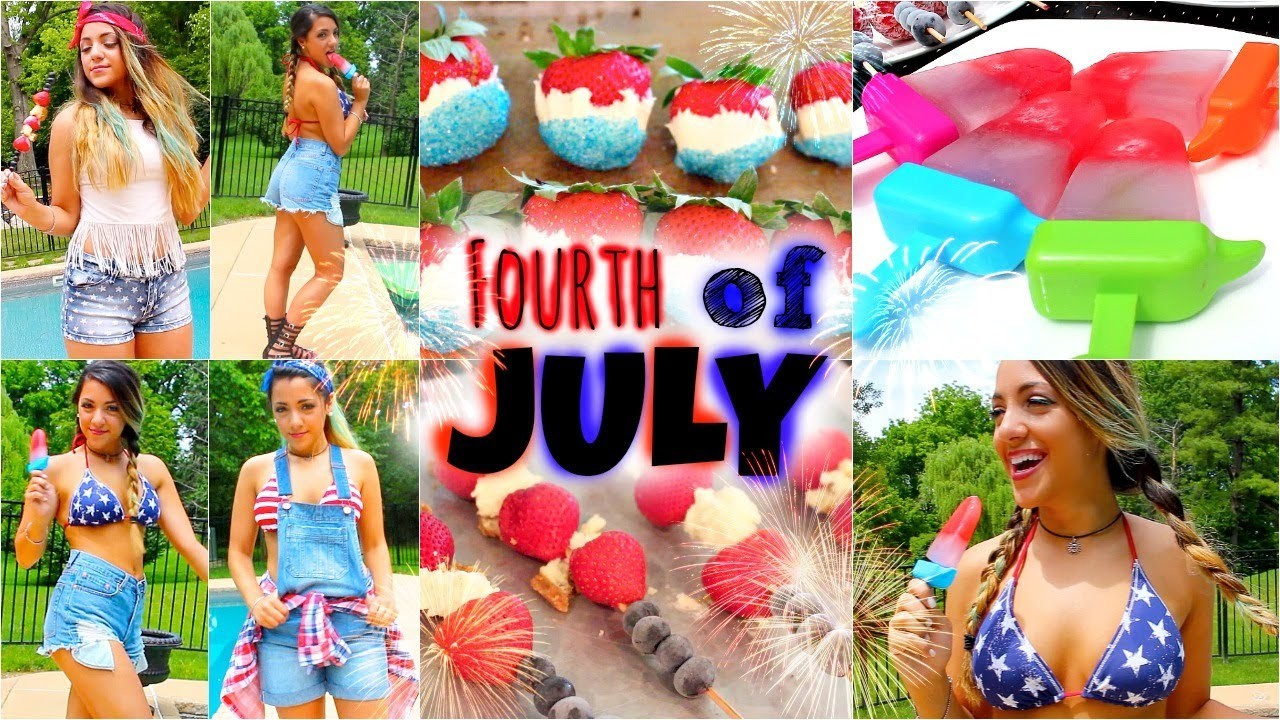Fourth of July Outfit Ideas & DIY Treats with Niki!