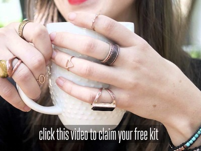 FREE Jewelry!  DIY Bracelet Kit is yours Free plus DIY Jewelry Making Tutorial