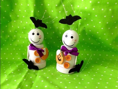 Halloween Crafts: DIY Flower Pot Ghosts