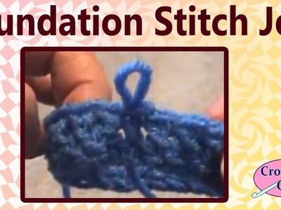 How to Join the Crochet Foundation Stitches in to a Circle Crochet Geek