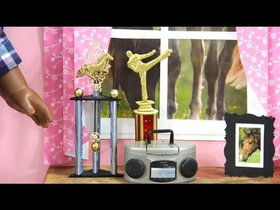 How to Make a Doll Trophy