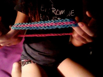 How to make a rainbow loom headband without elastic!