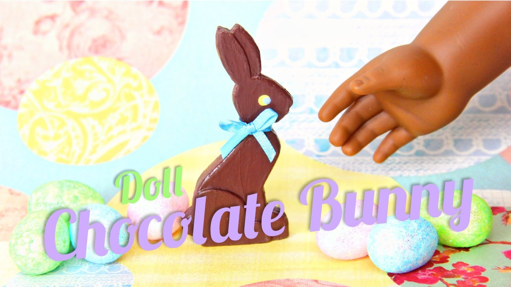 How to Make Doll Chocolate Bunnies - Doll Crafts
