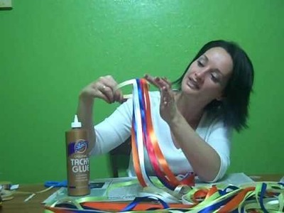 How to make Ribbon Wind Catchers