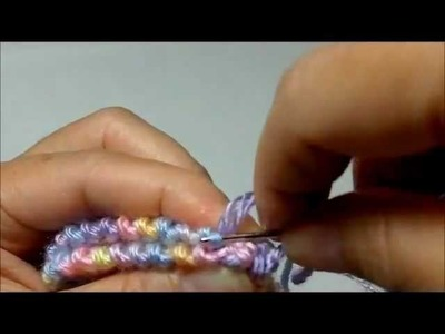 How to Sew Garter Stitches Baby Booties