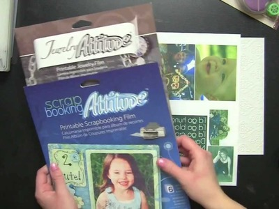 How to Use Craft Attitude Scrapbook Film