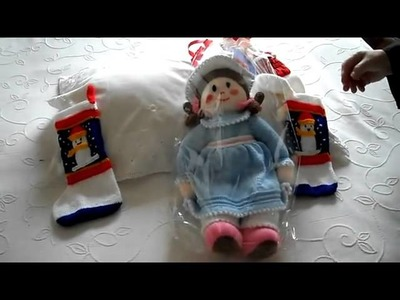 Knitted Dolls By Freda 4. - YouTube.flv