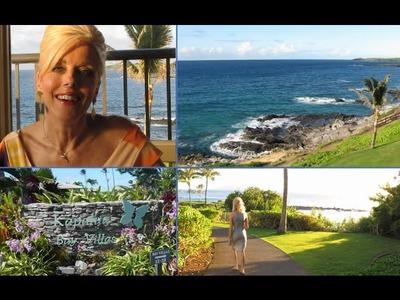 Maui Vlog #1 - Condo, Property.Grounds,Knitting &  Books