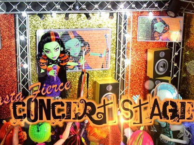 Monster High Special: Casta Fierce Concert Stage - Doll Crafts