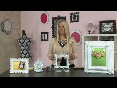 My Craft Channel: Teresa Collins Display Frames