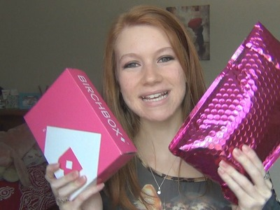 October Ipsy and Birchbox Unboxing! ♥