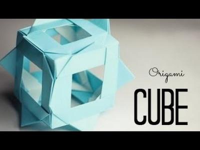 Origami Cube (Tadashi Mori)
