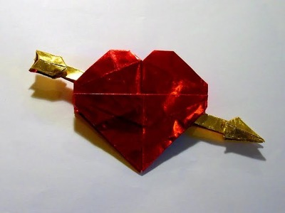Origami Valentine by Robert J. Lang (Part 3 of 4)