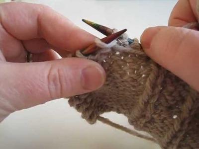 Pyrrha Designs: Purl Front & Knit Back Increase