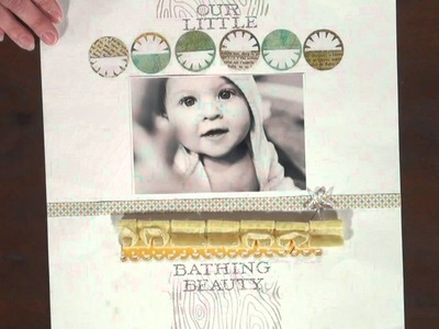 Scrapbook Trends Intro {The cutest page EVER}