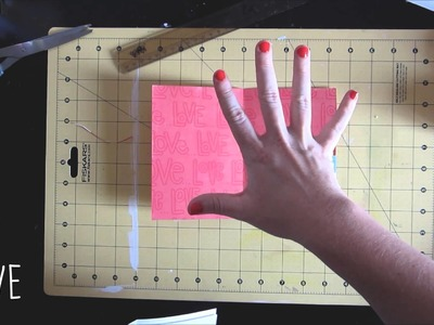 SCRAPBOOK TUTORIAL - HOW TO MAKE A NOTEBOOK IN 5 EASY STEPS