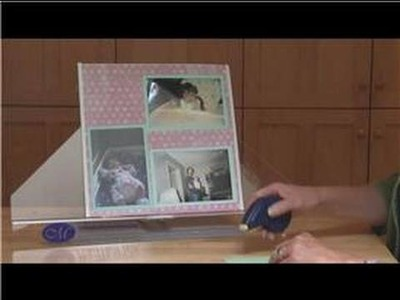 Scrapbooking Ideas : How to Make a 3-Picture Scrapbook Layout