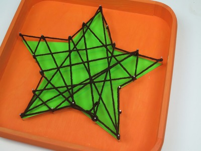 String Art Decor | Sizzix Kids Craft