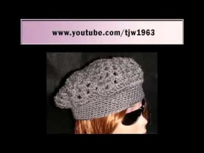 YouTube  Crochet Kingston Cap Video Tutorial