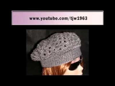YouTube  Crochet Kingston Cap Video Tutorial