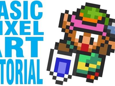 Basic Pixel Art Tutorial: Zarting Arting