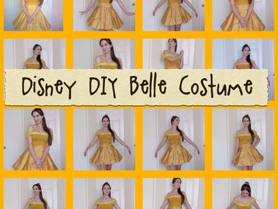 Disney DIY: Belle Costume