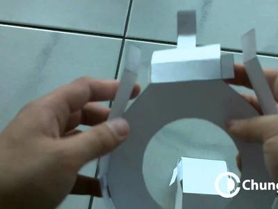 DIY cardboard ringflash by Chung Dha