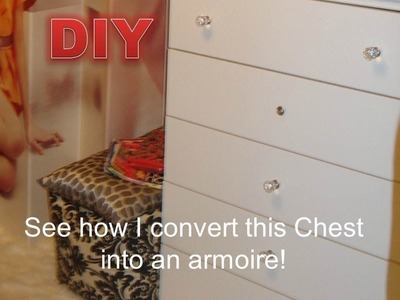 DIY Do It Yourself Jewelry Storage