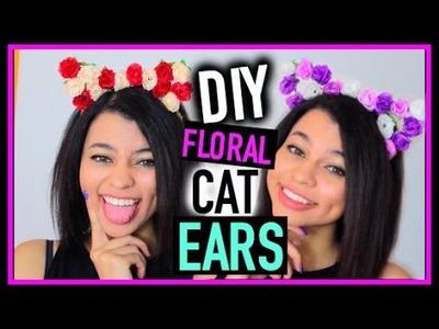 DIY: Floral Cat Ears ♡ SIMPLYNESSA15 ♡