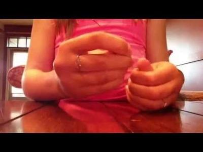 Diy paper clip rings
