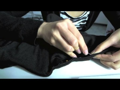 Diy: remove hood from vest.sweater (easy version)