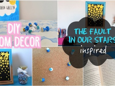 DIY Room Decor + Bookmark︱The Fault In Our Stars Inspired