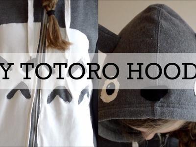 DIY Totoro hoodie.