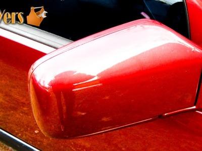 DIY: Volvo 850 Exterior Door Mirror Removal